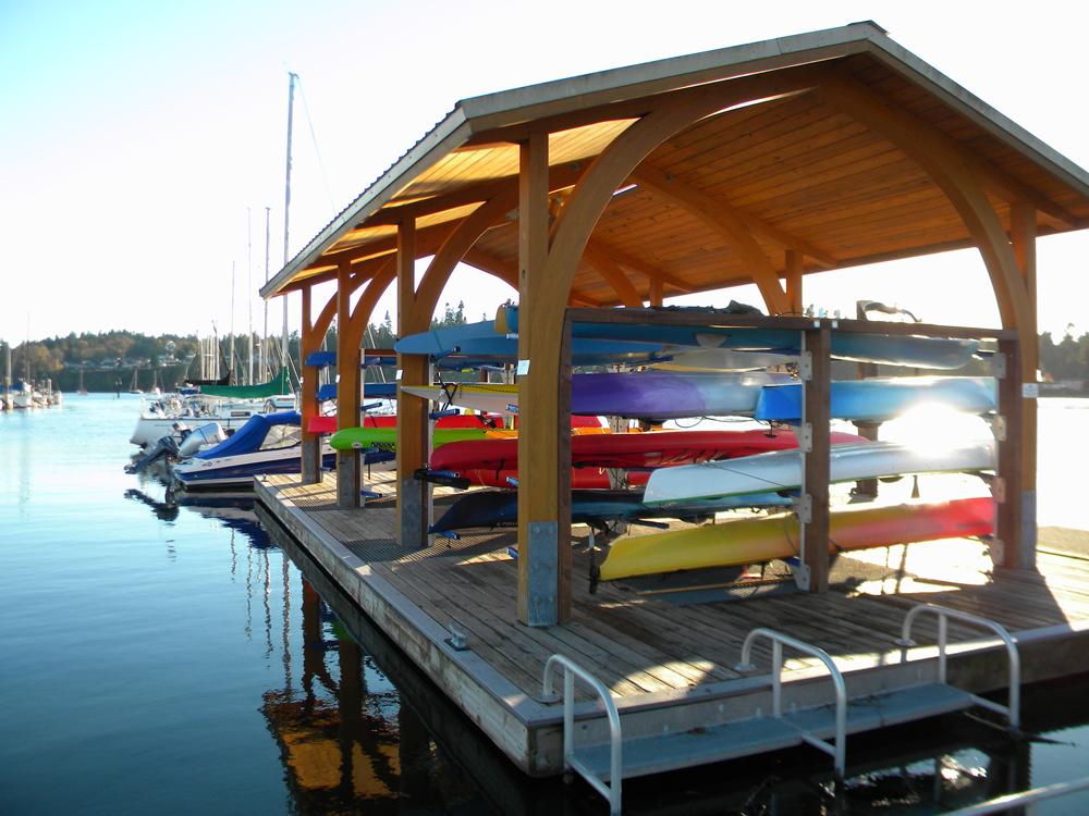 Kayak & Canoe Storage   Port of Kingston